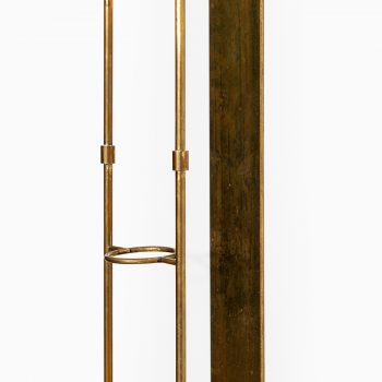 Wall candlestick in brass produced in Sweden at Studio Schalling