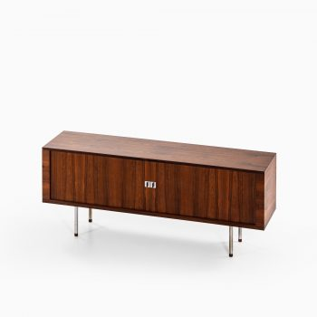 Hans Wegner RY-25 sideboard in rosewood and steel at Studio Schalling