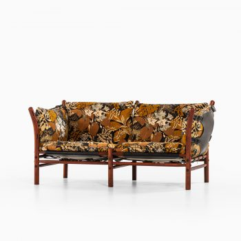 Arne Norell Ilona sofa in floral fabric at Studio Schalling