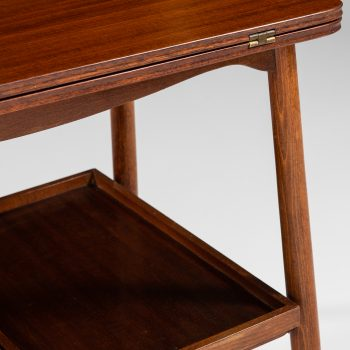 Frode Holm trolley in mahogany and brass at Studio Schalling