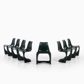 Steen Østergaard dining chairs model A-Line 290 at Studio Schalling