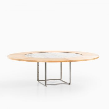Poul Kjærholm PK-54 dining table by E. Kold Christensen at Studio Schalling