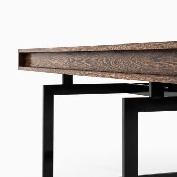 Bodil Kjær desk in wengé and steel at Studio Schalling