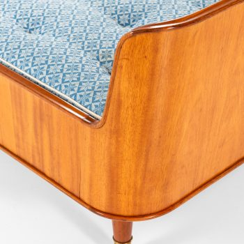 Axel Larsson beds in mahogany and brass by Bodafors at Studio Schalling