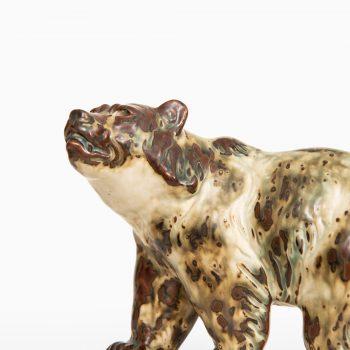 Knud Kyhn ceramic bear by Royal Copenhagen at Studio Schalling