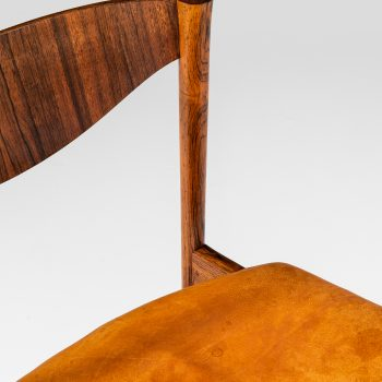 Ib Kofod-Larsen dining chairs in rosewood at Studio Schalling