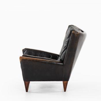 Illum Wikkelsø easy chair model V11 by Holger Christiansen at Studio Schalling