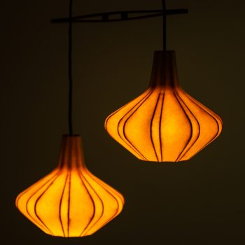 Ceiling lamp attributed to Hans Bergström at Studio Schalling