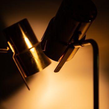 Hans-Agne Jakobsson floor lamps model G-154 in brass at Studio Schalling