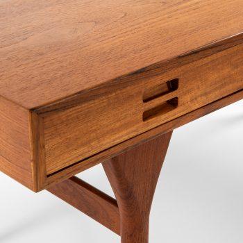 Nanna Ditzel freestanding desk in teak at Studio Schalling