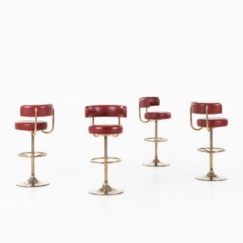 Börje Johanson bar stools by Johanson Design at Studio Schalling