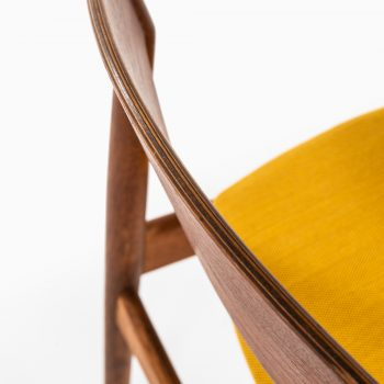 Erik Buck dining chairs by Vamo møbelfabrik at Studio Schalling