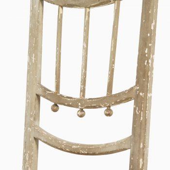 Side chair in hemp string by unknown designer at Studio Schalling