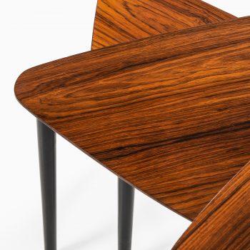 Kurt Østervig attributed nesting tables by Jason møbler at Studio Schalling