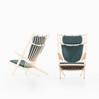 Poul Volther easy chairs by Gemla at Studio Schalling