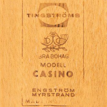 Sven Engström & Gunnar Myrstrand side table in oak at Studio Schalling