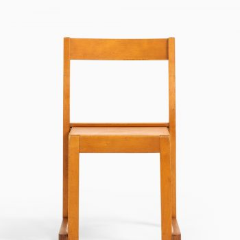 Sven Markelius children chairs in birch at Studio Schalling