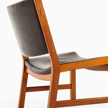 Rare pair of easy chairs model JH54 by Hans Wegner at Studio Schalling