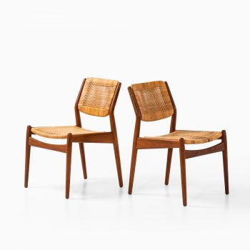 Arne Vodder dining chairs model 51 at Studio Schalling