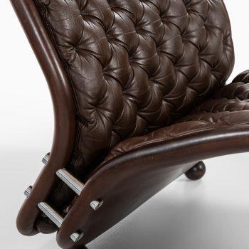 Verner Panton easy chairs system 1-2-3 by Fritz Hansen at Studio Schalling