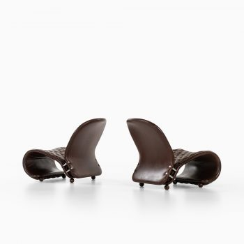 Verner Panton easy chairs system 1-2-3 by Fritz Hansen at Studio Schalling