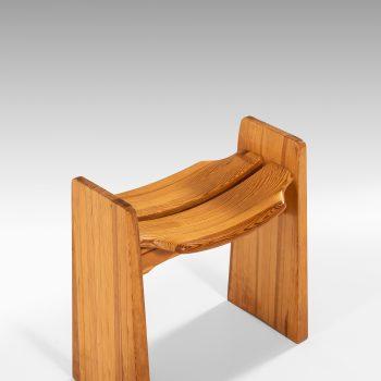 Gilbert Marklund stools in pine at Studio Schalling