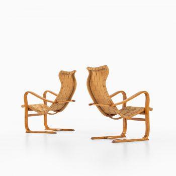 Gustav Axel Berg easy chairs model Patronen at Studio Schalling