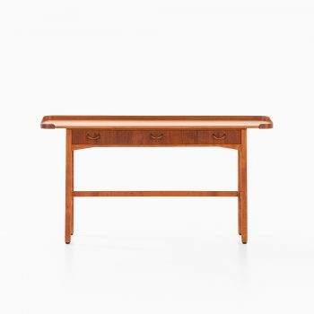 David Rosén console table in teak at Studio Schalling