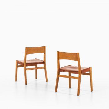 John Vedel Rieper dining chairs by Erhard Rasmussen at Studio Schalling