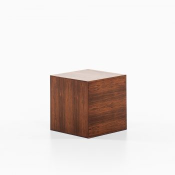 Poul Nørreklit side table in rosewood at Studio Schalling