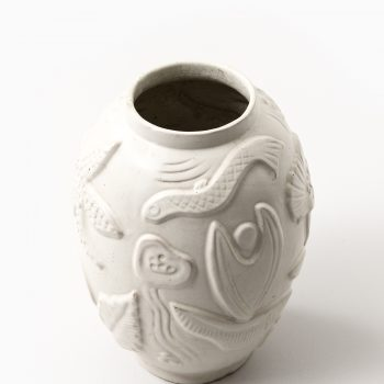 Anna-Lisa Thomson ceramic vase by Upsala Ekeby at Studio Schalling