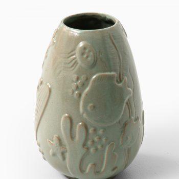 Anna-Lisa Thomson ceramic vase by Upsala Ekeby at Studio Schalling