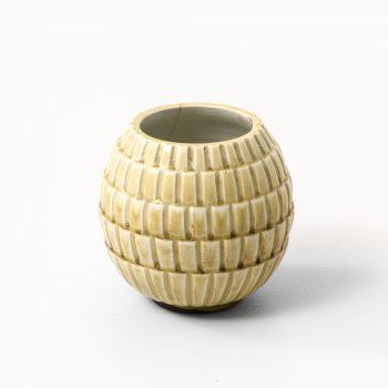 Gertrud Lönegren ceramic vase by Rörstrand at Studio Schalling