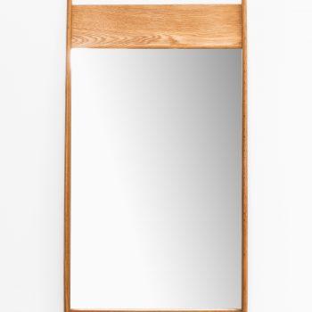 Mirror in oak by unknown designer at Studio Schalling