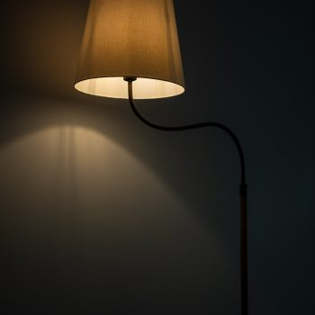 Gustav Axel Berg floor lamp in mahogany at Studio Schalling
