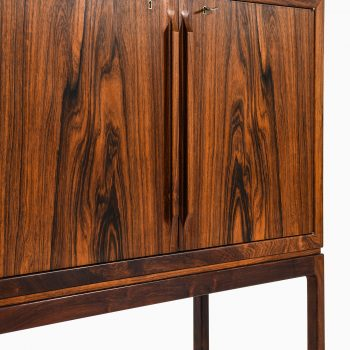 Torbjørn Afdal bar cabinet in rosewood at Studio Schalling