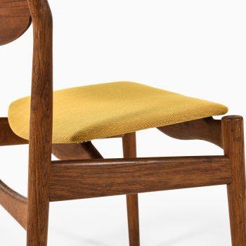 Erik Buck dining chairs by Vamo møbelfabrik at Studio Schalling