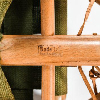Erik Höglund stool in beech and hemp at Studio Schalling