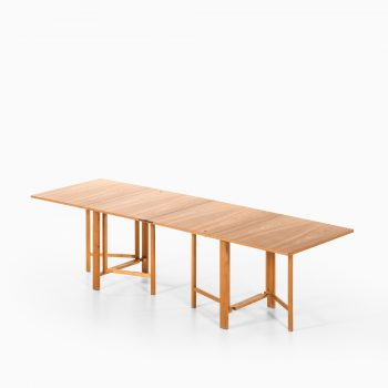 Bruno Mathsson Maria flap dining table in ash at Studio Schalling