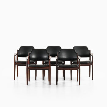 Arne Vodder armchairs model 62A at Studio Schalling
