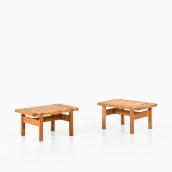 Børge Mogensen side tables model 5273 at Studio Schalling