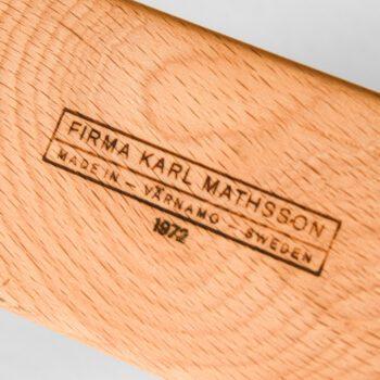 Bruno Mathsson Pernilla lounge chair at Studio Schalling