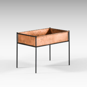 Hans-Agne Jakobsson flower table in copper at Studio Schalling