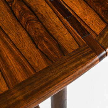 Niels Kofoed dining table in rosewood at Studio Schalling