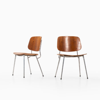 Børge Mogensen dining chairs by Søborg møbler at Studio Schalling