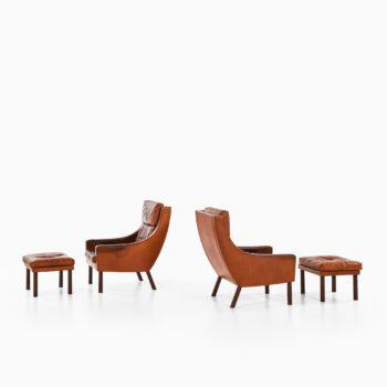 Erik Ole Jørgensen easy chairs by Selectform at Studio Schalling