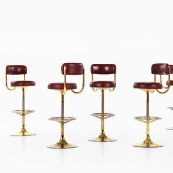 Börje Johanson bar stools by Johanson design at Studio Schalling