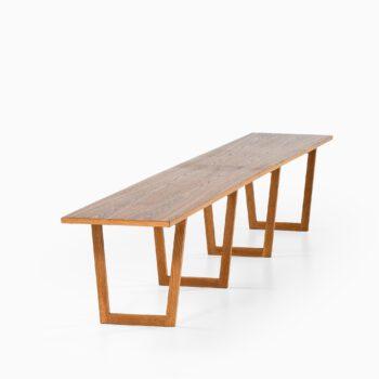 Kurt Østervig long side table by Jason at Studio Schalling