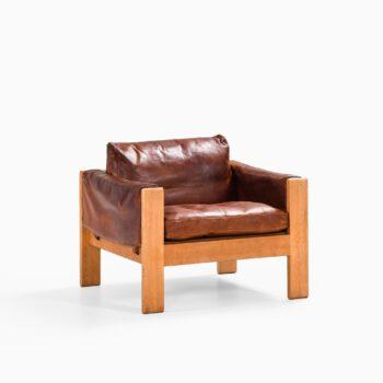 Erik Ole Jørgensen easy chair in oak at Studio Schalling