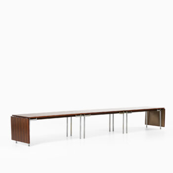 Hans Wegner conference / dining table at Studio Schalling